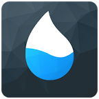 水滴计步动态壁纸:Drippler Fitness Step Counter 1