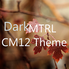 DarkMTRL Thyrus CM12/13 Theme 8.2