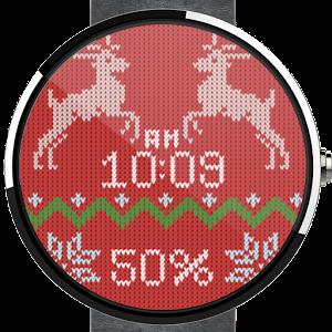 圣诞节毛衣表盘:Christmas Sweater Watch Face 1