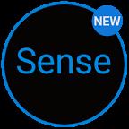 Sense 7 Black/Blue cm12 theme 1.26