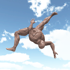夏日的强力滑翔:Summer! Powerful ski jumping!