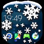 下雪壁纸:Snow on Screen Winter Effect 1