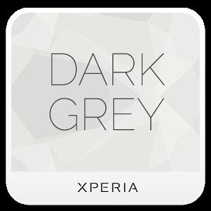 Dark Grey xperia theme 1.0.0