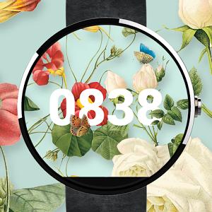 花朵表盘:Floral Watch Face 1.3