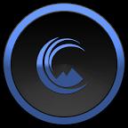 X Blue Dark图标包 1.5