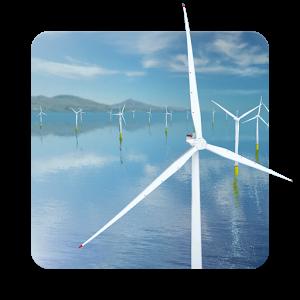 风力发电机动态桌面:Coastal Wind Farm 3D 1.2