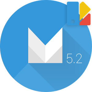 Theme Android M Blue 1