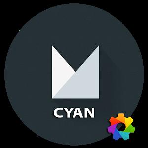 Theme Xperime M Cyan 25