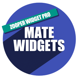 Mate Widgets for ZOOPER 1.6