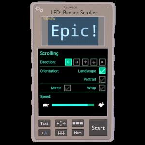 LED Banner Scroller 1