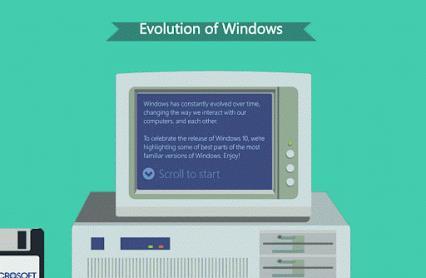Windows演变开机动画 1