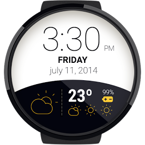 天气表盘:Weather Watchface 4.1.6