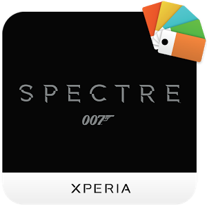 XPERIA™ Bond Spectre Theme 1.0.0
