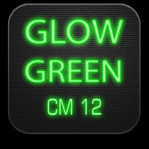Glow Green CM13 CM12.x Theme 3.1