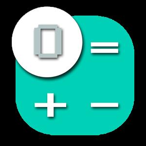 计算器挂件:Calculator widget