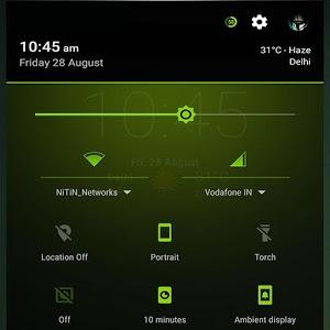 Neon Green Theme CM13 1.2