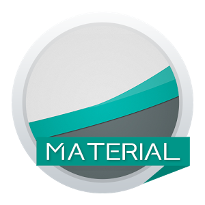 Material Stock Teal Theme-Xperia主题 2.0stable