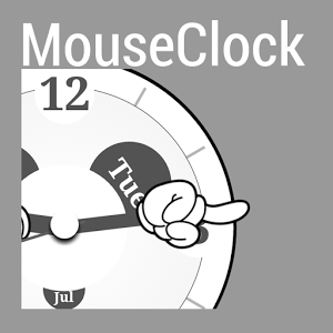 MouseClock for Kustom 1