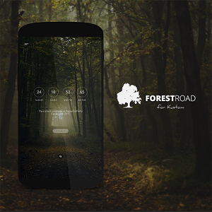 Forest Road Theme for KLWP 1