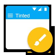 Tinted透明变色状态栏-CM主题 2.2