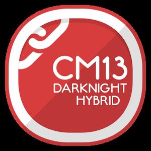 CM13 Theme DarkNight Hybrid 2.1