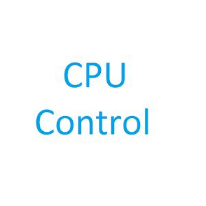CPU控制:CPU Control