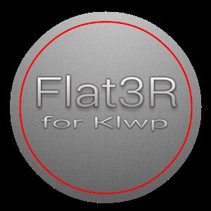 Flat3R - Klwp皮...