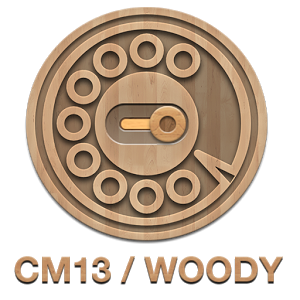 CM13 Wood Theme 1.0.5