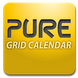 整月桌面日历:Pure Grid calendar widget 2.6.9
