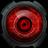 DroidX红眼时钟:DroidX Eye 5 Clock 1