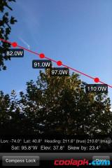 GPS卫星实景查看:DishPointer Pro