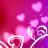 美丽之心动态壁纸:KF Hearts Donation 1.05