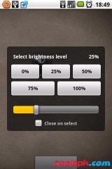 亮度调节Widget:Brightness Level