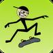火柴人玩滑板:Stickman Skater Pro 1.4.1
