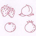 宝宝涂鸦书水果...