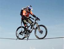 高空自行车