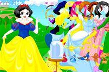 打扮白雪公主2...