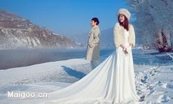 冬季婚纱照