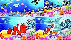 多彩的海底世界...