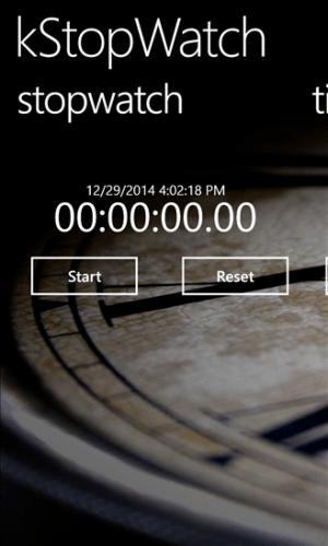 KStopwatch
