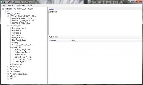 Bonodi XML Editor