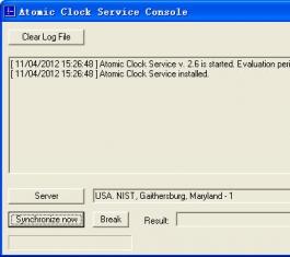 Atomic Clock Service