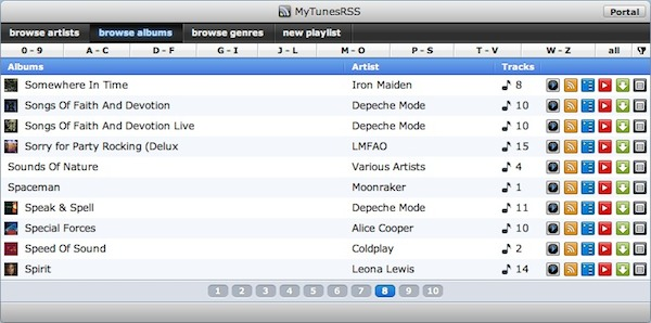 MyTunesRSS For Mac
