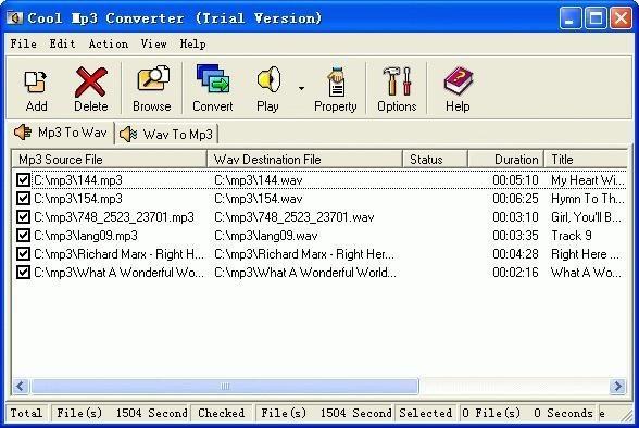 Super MP3 Wav Converter