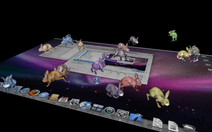 3D Desktop Bunn...