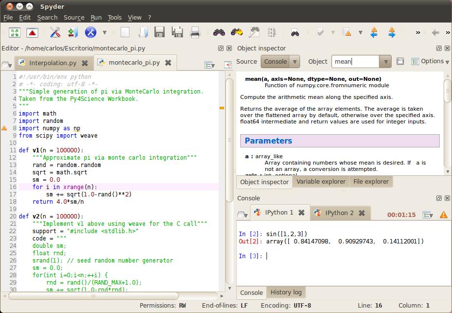 Spyder for Linux