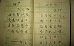 学写钢笔字
