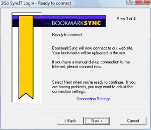 2Go BookmarkSync