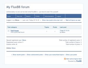 FluxBB 1.5.6