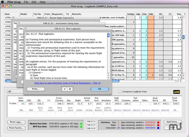 Pilot eLog For Mac